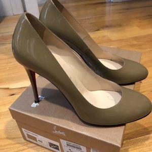 Christian Louboutin heels size 40.
